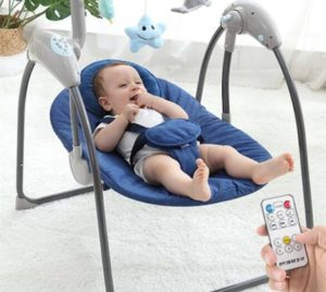 reclining baby swing guides