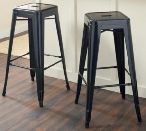 choosing metal bar stools